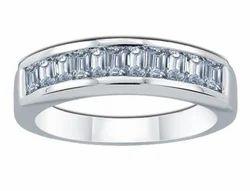 Enigma Baguette Diamond Ring