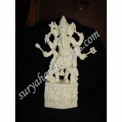 Bone Standing Ganesha