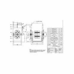 Built Machine Parts Drawing