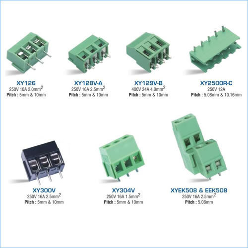 Xinya Terminal Blocks ( Green  Connectors)