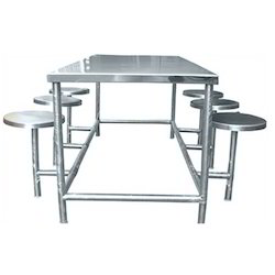 Superb Stainless Steel Dining Tables Part 25