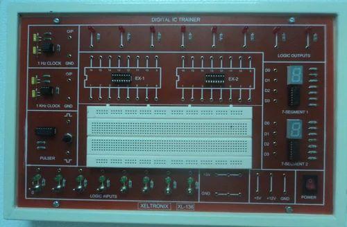 3 Phase Generator >> Digital Electronics Trainer kits - Digital IC Trainer ...