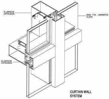 Curtain Wall | Anuja Enterprises | Manufacturer in Nerul