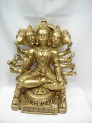 Five Face Hanuman Ji Statue