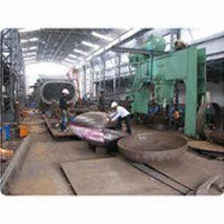 Dished End Pressing, Engineering Machines | Sachin, Surat