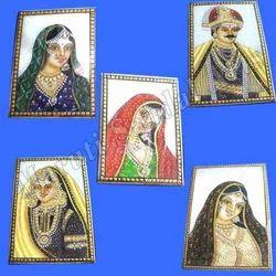 Marble Rajasthani Painting