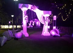 Ocean theme event service event organizers dias decorators goa ocean theme event service junglespirit Image collections