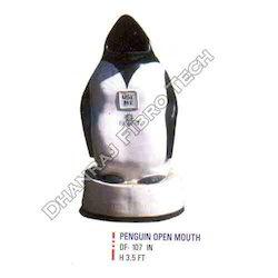 Big Penguin Dustbins