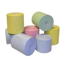 Plain Colored Thermal Paper Rolls, Gsm: Less Than 80