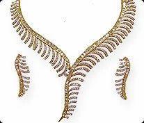 Diamond Jewelry Necklace Set