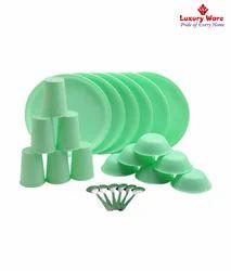 Green Plastic Ware