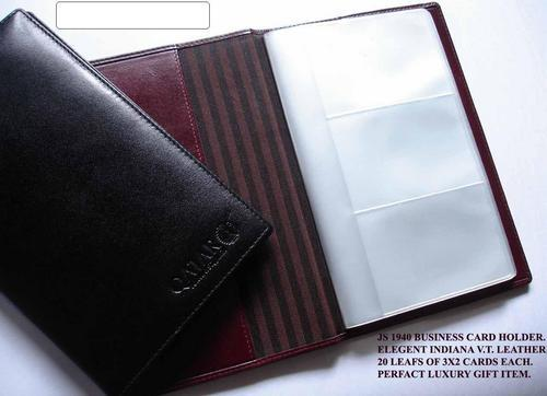 7d3e90677c0c69 Leather Business Card Holders at Rs 80 /piece(s) | Business Card ...