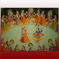 Decorative Silk Paintings