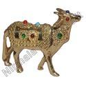 Brass Lekar Cow Statues