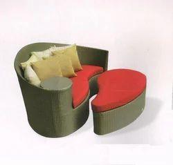 Garden Rattan Couch Set