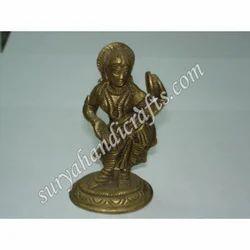 Brass Lady Standing