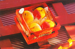 Fruits In A Wooden Crate