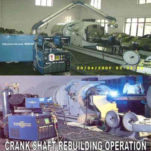 Rebuilding Of Crankshaft And Engine Blocks