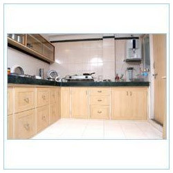 PVC Kitchen Cabinet At Rs 300 Square Feets