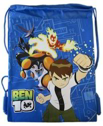 Ben Ten Printed Drawstring Bags