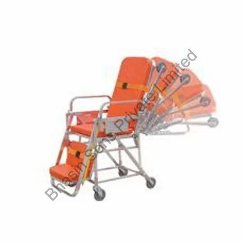 Patient Handling Equipments - Aluminum Folding Stretcher Two Fold