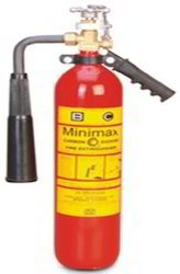 Minimax CO2 Fire Extinguishers