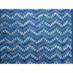 Indigo Hand Block Print Designs Fabric