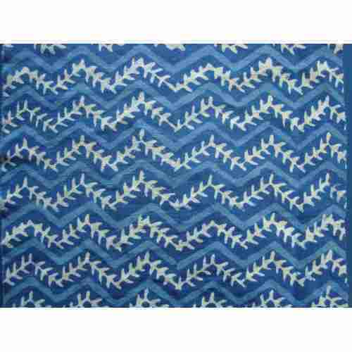 Indigo Hand Block Print Designs Fabric For Garments Rs 150