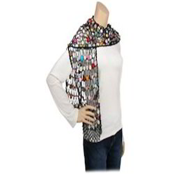 Multicolor Beaded Scarves