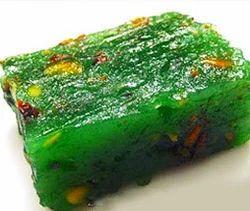 Green Badami Halwa