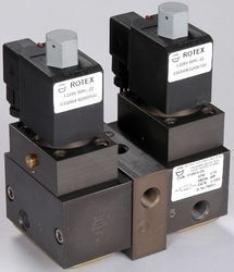 Center Off Poppet Solenoid Valve