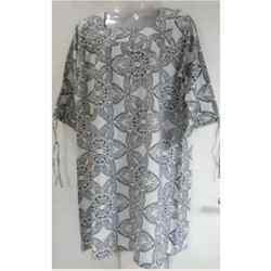 Cotton Cambric Printed Top