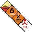 Adhesive Paper Chemical Sticker