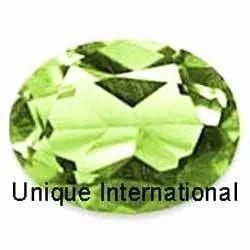 Peridot Oval Cut Gemstone