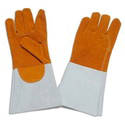 Leather Heat Resistant Glove