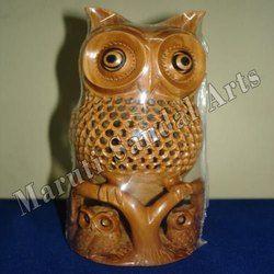 Sandalwood Fine Undercut Baby Owl