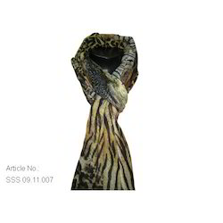 Tiger Print Stole