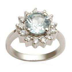 Engagement Flower Shape Ring