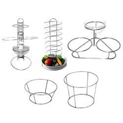 Food Plate Holder & Stand