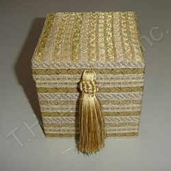 Fabric Jewelry Box Manufacturers Suppliers of Fabric Jewellery Box