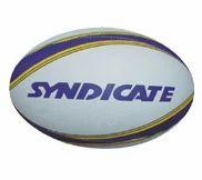 SYNDICATE White Rugby - Med Design Balls