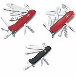 Swiss Knife Keychain