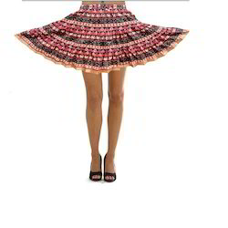 Designer Cotton Short Skirts