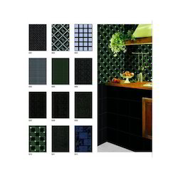 Black Luster Series Wall Tiles