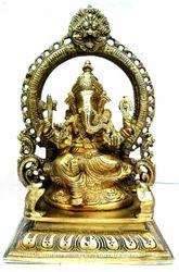 Brass Raja Ganesh