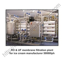 RO And UF Membrane Filtraion Plant