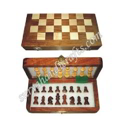 Wooden Chess Carving