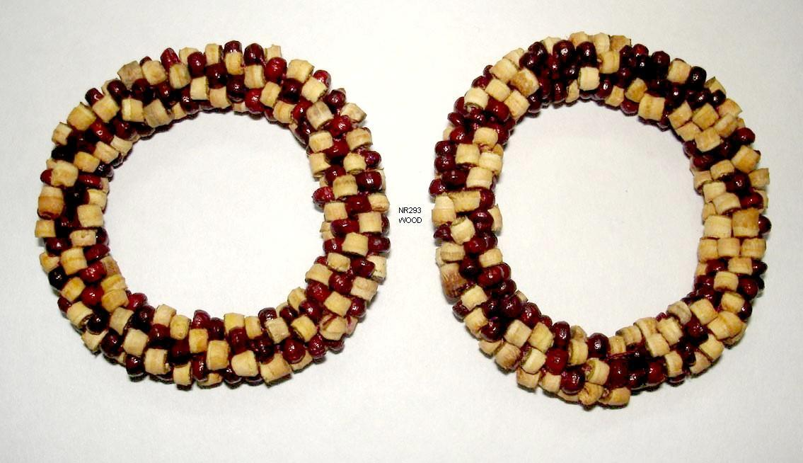 Natural Wooden Bead Cherismetic Beaded Napkin Ring For Hotel Size Inner Dia 4cm Rs 10 Piece Id 3335828255