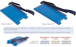 Photographic Paper Cutters