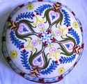 Embroidered Floor Pillow Cover